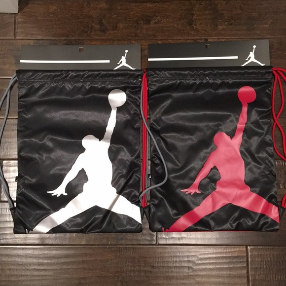 24c3a9eabd11 ❤️NWT!!!❤️ Nike Air Jordan Jumpman GymSack.$25 ea. NWT